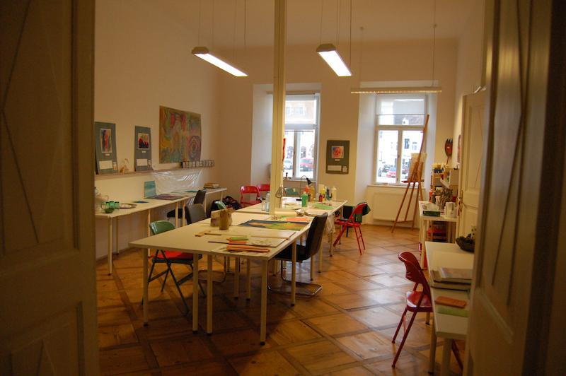 Winterpläne im Atelier