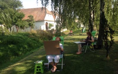 Kreativer Besuch aus der Schweiz